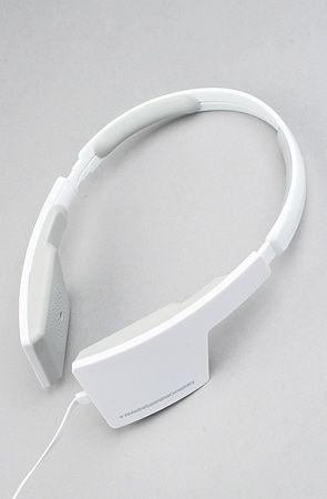 WESC headphones. White