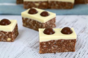 If you're a fan of Maltesers... then look no further than this delicious slice!