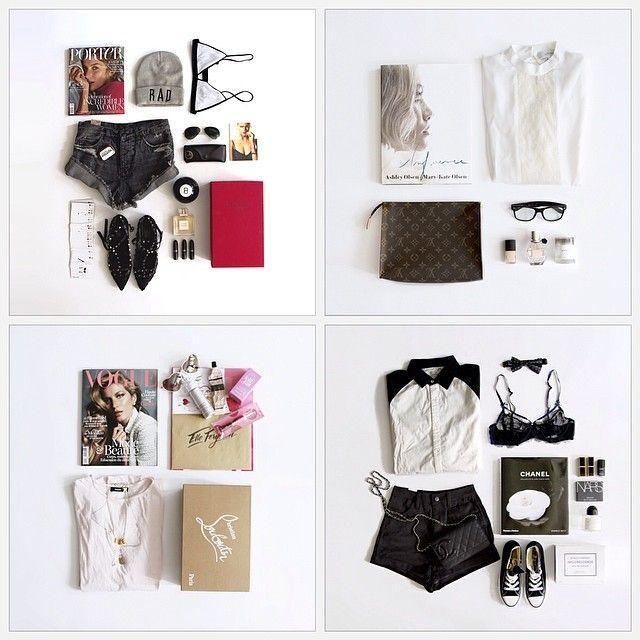 Simplicity… Love a good flat lay. by elle_ferguson