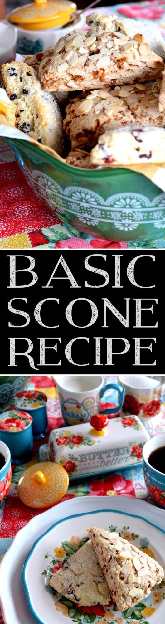 Basic Scone Recipe - Lord Byron's Kitchen