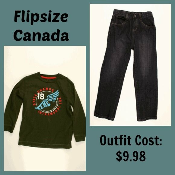 Flip Your Kids Clothes For Cash with FlipSize Canada   Win a Gold Membership and Gift Card! CANADA ONLY