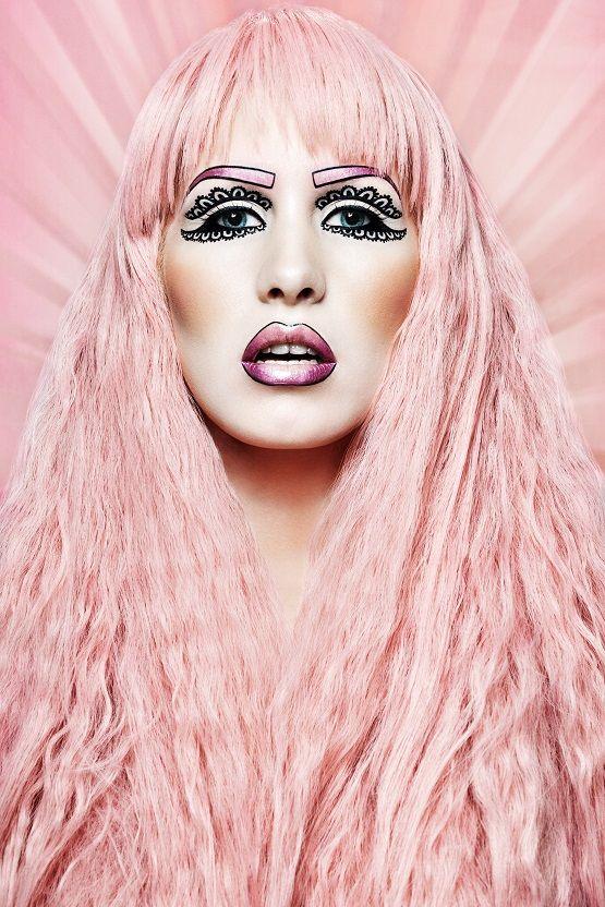 Pinky pink pink pink