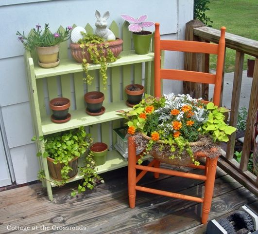 A Totally Free Project A Chair Planter