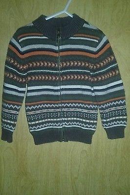 Boys gymboree zip up sweater size 2t