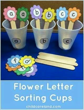 Flores y letras