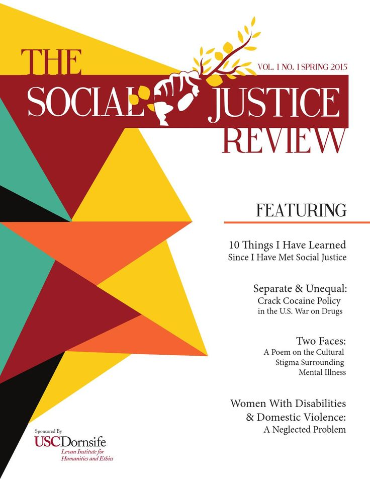 Spring 2015 Issue - SJR  The Spring 2015 issue of the Social Justice Review