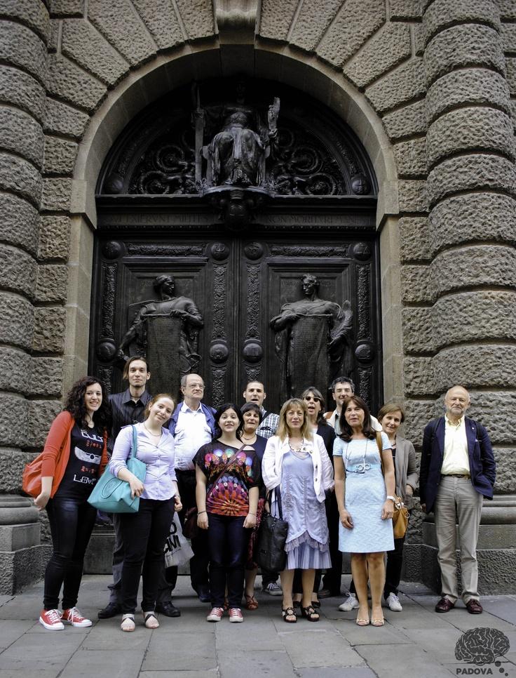 Il gruppo di #italy4science di #Padova