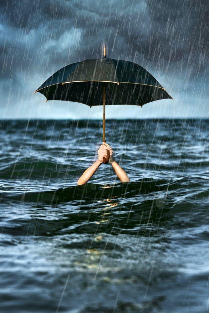 Хорошее открытка, прикольные картинки море и дождь