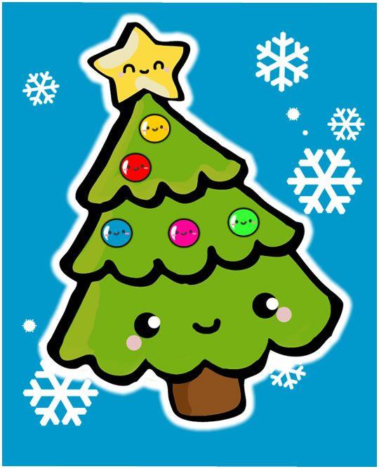 37 best images about mis dibujos kawaii on pinterest un - Decoraciones del arbol de navidad ...