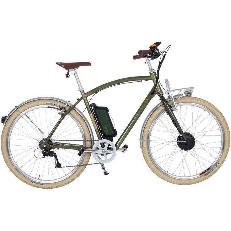 Prophete E-Bike Navigator Flair 28 Zoll (Pedelec), elektrisch unterstütztes Retro-Fahrrad mit Aluminium-Rahmen in British Green jetzt bestellen! | A.T.U Auto-Teile-Unger 1399,99 Euro
