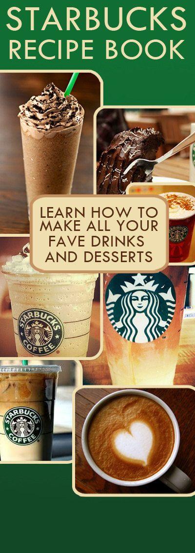 Starbucks DIY Starbucks Recipe eBook DIY by 1RachelNorris on Etsy, $4.99
