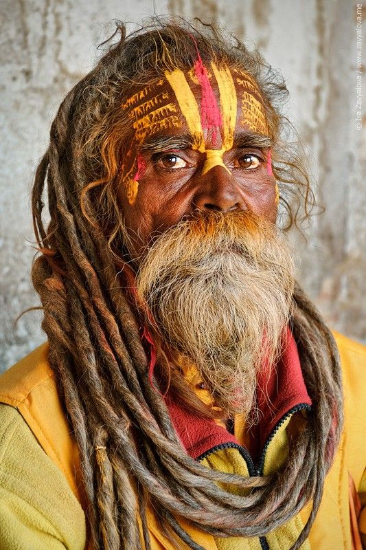 Sadhu - Sadhus are sanyasi, or renunciates, who have left behind all material and sexual attachments and live in caves, forests and temples all over India and Nepal.