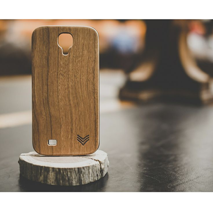Our collaboration Natural Aspirations Samsung S4 case in Cherry Wood