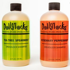 Dollylocks Organic Liquid Dreadlock Shampoo $15.95 This smells amazing and is organic, vegan, not tested on animals and completely GMO free!