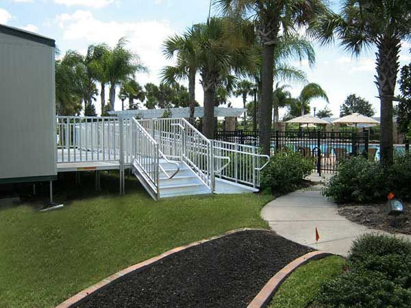 7 best modular wheelchair ramps for homes images on for Ada compliant homes