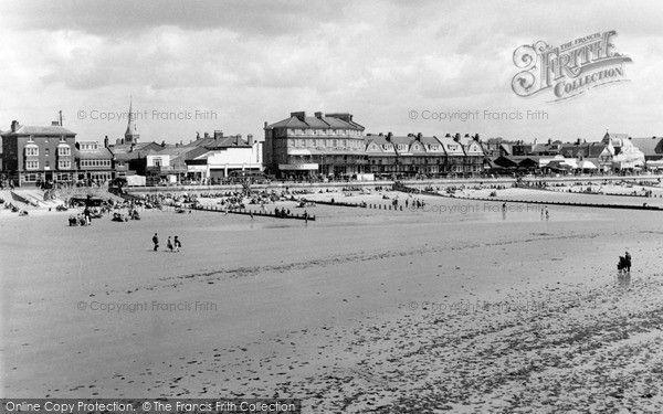 Bognor Regis, Beach And Promenade c.1955, from Francis Frith