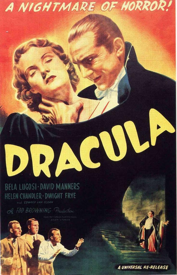 dracula: Vampire, Horror Movies, Favorite Movies, Classic Horror, Dracula 1931, Movies Poster, Classic Movies, Bela Lugosi, Film Poster