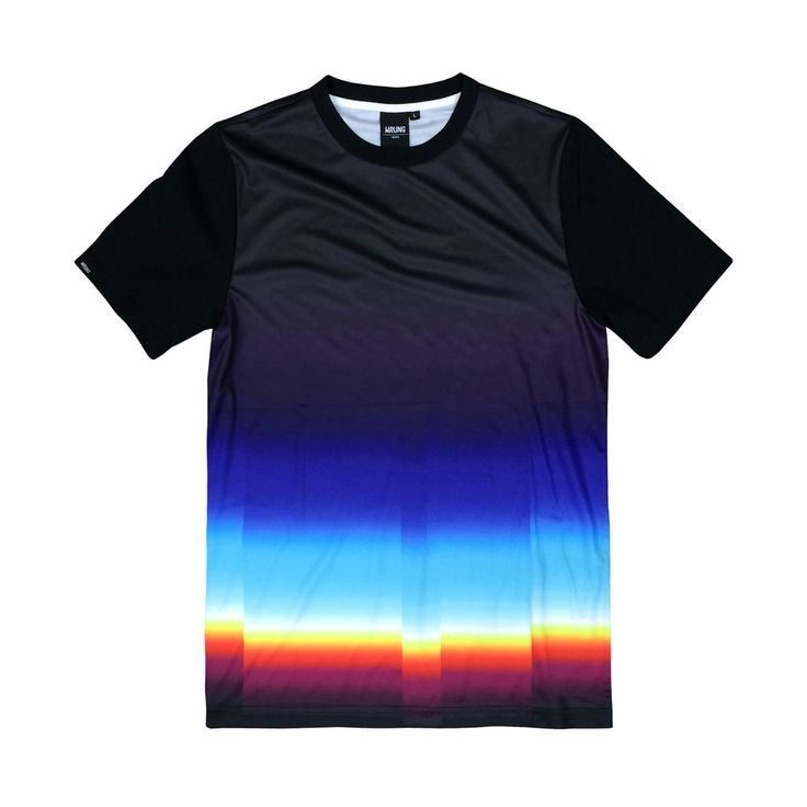 "LTD-1TS1 ""Chromatic"" t-shirt via FELIPE PANTONE - ONLINE STORE. Click on the image to see more!"