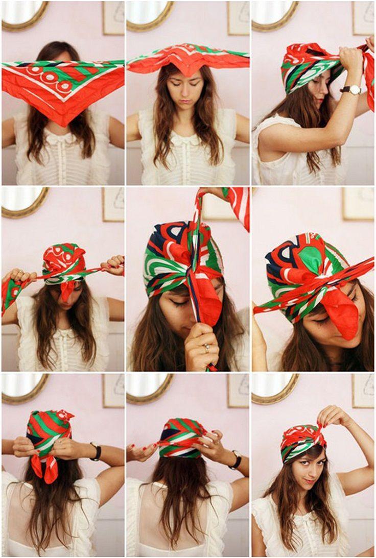 Binde einen Turban!