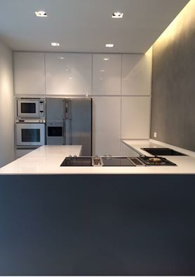 Cucina realizzata in Francia. Kitchen installed in France.