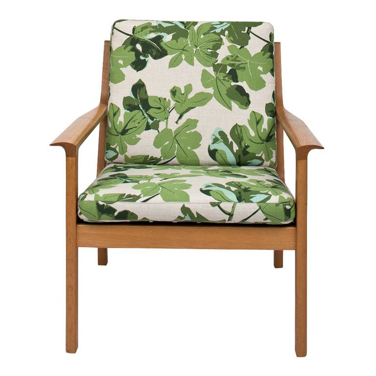 1stdibs - Mid-Century Chair Upholstered in Peter Dunham Fabric explore items from 1,700  global dealers at 1stdibs.com