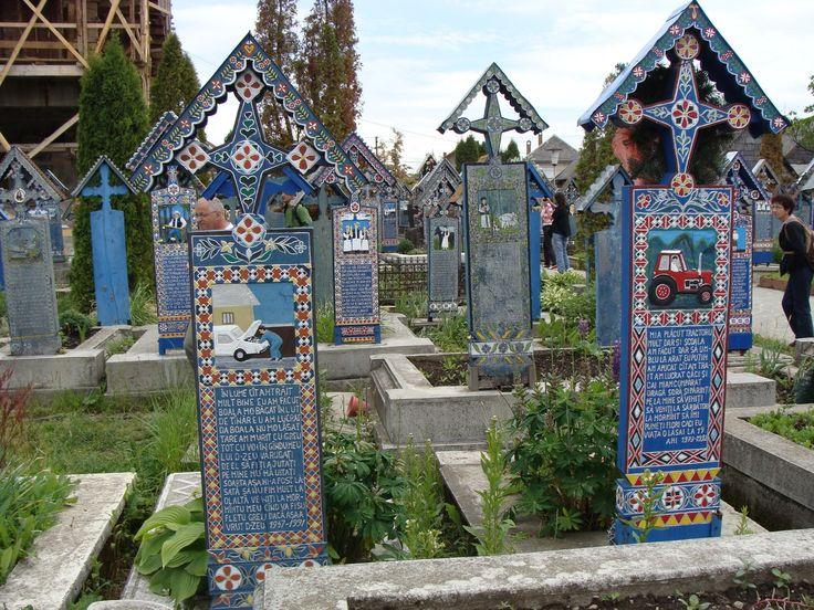 cimitirul vesel din Sapanta Maramures