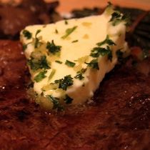 Steakhouse Garlic Butter Recipe Tried this tonight for Labor Day, and it was YUMMY!  Super easy!  Would TOTALLY make it, again! (and how fancy we looked--like a real steak house!)