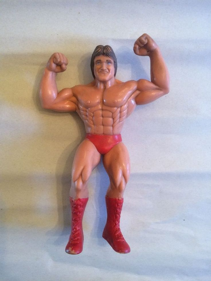 Mr Wonderful Paul Orndorff Action Figure LJN WWF WWE Wrestling Series 2 1985 #LJN