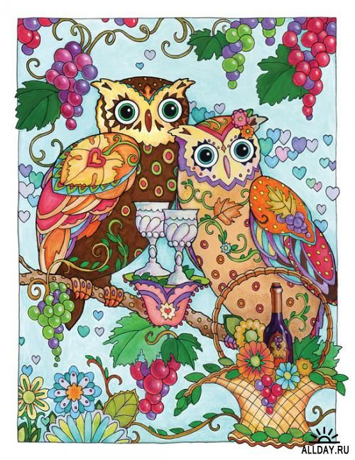 8 best OWL COLORING BOOK images on Pinterest | Coloring books ...