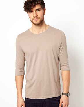 ASOS Sleeve T-Shirt With Crew Neck $10.87
