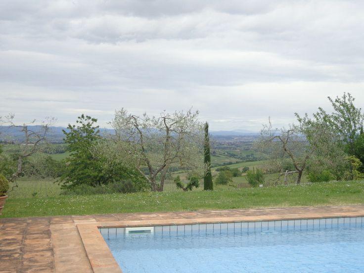 """Ein """"posto segreto"""" bei Montefollonico"""