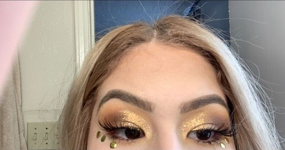 Day 1 Of Makeup Looks Inspired By Harry Styles Fine Line Album