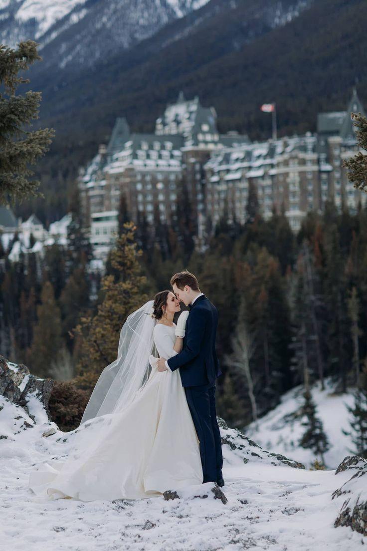 Fairmont Banff Springs Winter Wedding Mt Stephen Hall