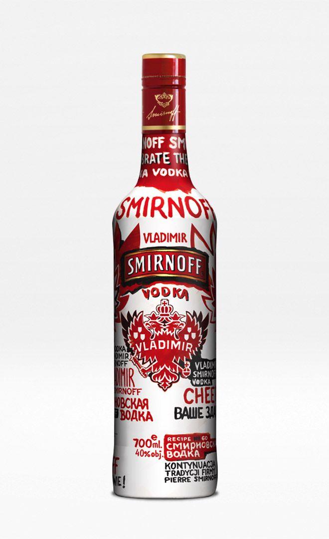 Smirnoff Vladimir limited edition packaging