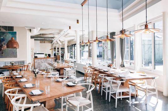 Lighting by Zaffero: Forbes Pendants Commercial Project: Vine Double Bay, Sydney
