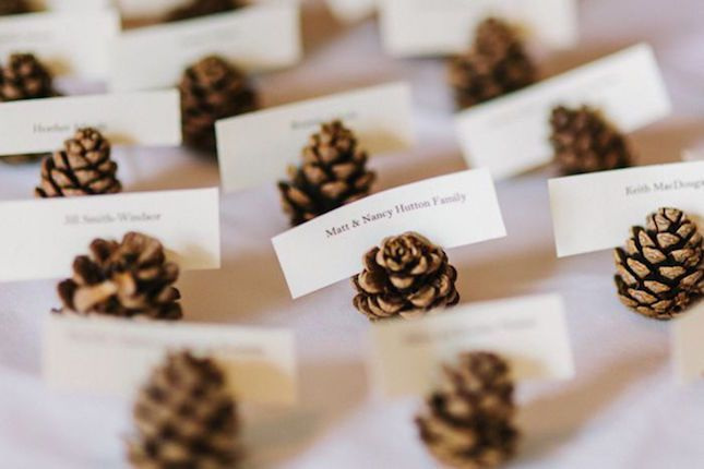 20 Inspired Ideas for a Dreamy Woodland Wedding via Brit + Co.                                                                                                                                                     More