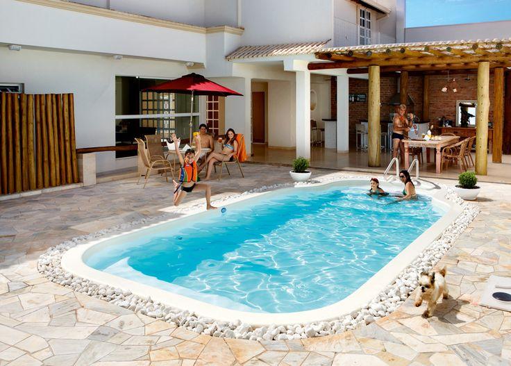 Imagem relacionada Casas com piscina, Piscina, Diversão