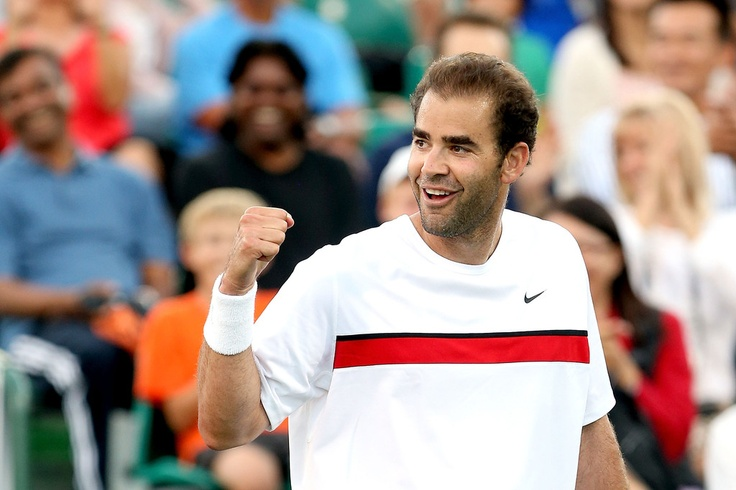 Pete Sampras. Mother from #Sparta, #Greece and half #Greek father, Sampras attended services at the local Greek Orthodox Church growing up. Now retired, Sampras was an American tennis player and world number 1. Defeating Andre Agassi in the US open in 2002 he ended his 14 year career.