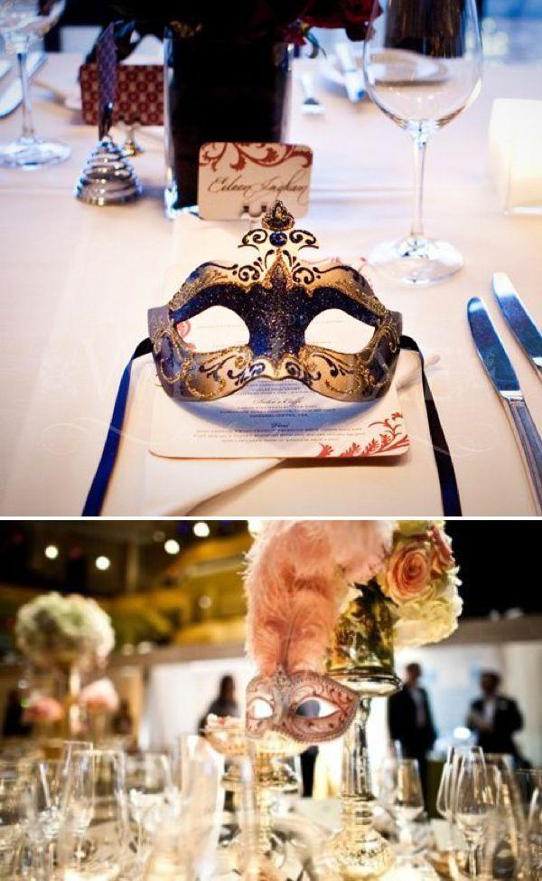 Aproveite o clima de carnaval e faça um chá de lingerie mascarado