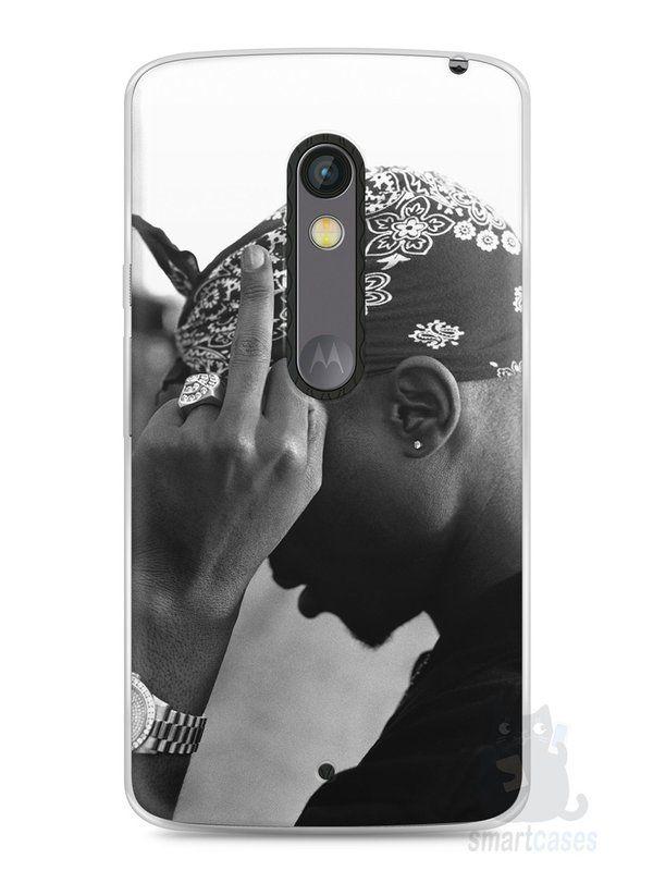 Capa Capinha Moto X Play Tupac Shakur #2 - SmartCases - Acessórios para celulares e tablets :)