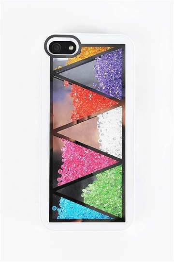 amazing case!! has beads that you can shake