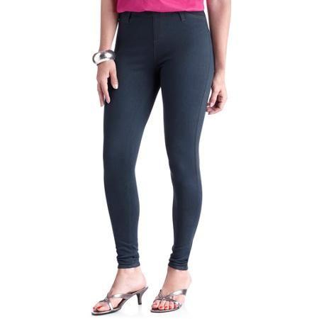 736043b77b0 Faded Glory Women s Full Length Knit Color Jegging - Walmart.com ...