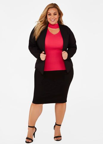 a1ee6900c3215 Tall Ponte Pencil Skirt