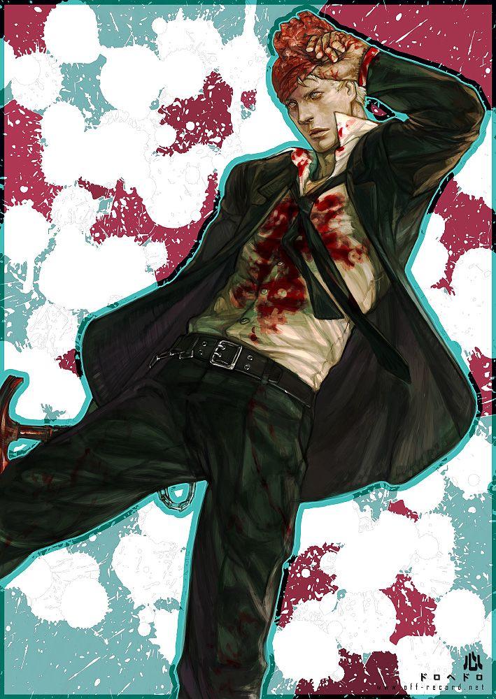Dorohedoro - Shin by *offrecord on deviantART http://offrecord.deviantart.com/