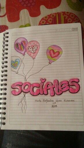 Marca tus cuadernos.