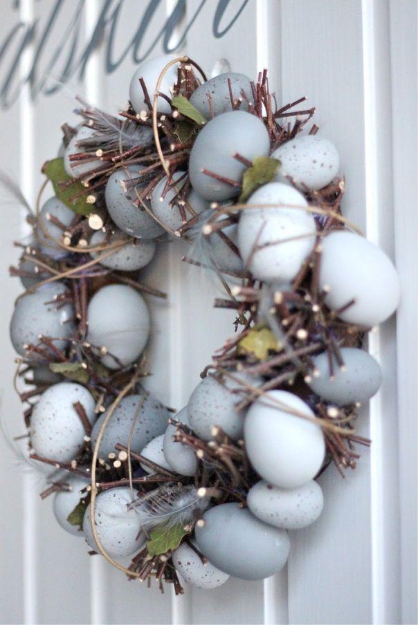 украшения к Пасхе своими руками из яичной скорлупы