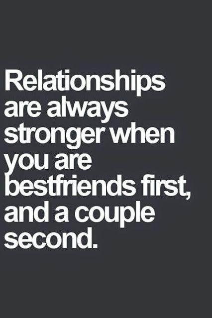 Friends start dating