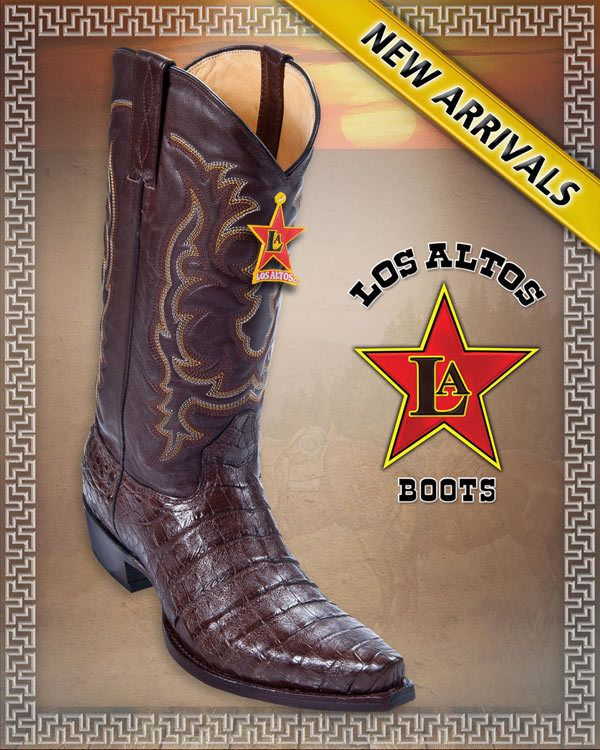 georgetowncowboyboots - Snip Toe Caiman Belly BROWN COWBOY WESTERN BOOTS BY LOS ALTOS BOOTS, $365.00 (http://www.georgetowncowboyboots.com/snip-toe-caiman-belly-brown-cowboy-western-boots-by-los-altos-boots/)