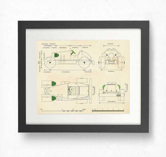 CAR WALL ART, Boys Rooms, Vintage racing car prints, boys room decor, art prints, nursery decor, boys, toddlers, cars, prints