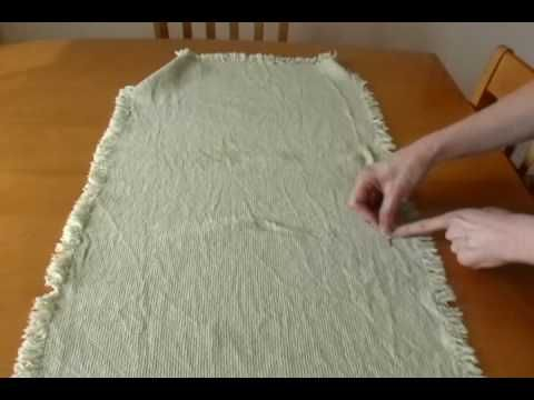 Swedish Weaving, Part 2a: Introduction to stitching